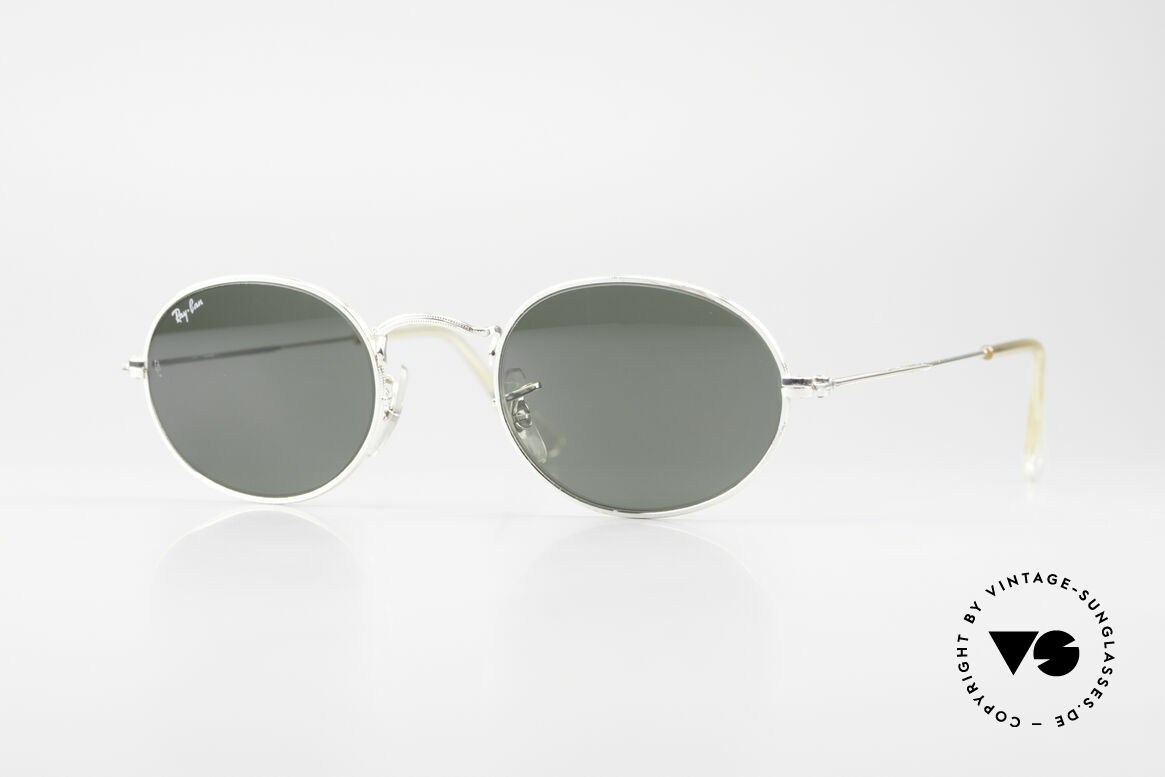Ray Ban Classic Style I Old Oval B&L USA Sunglasses, model of the old RAY-BAN 'Classic Collection', Made for Men and Women