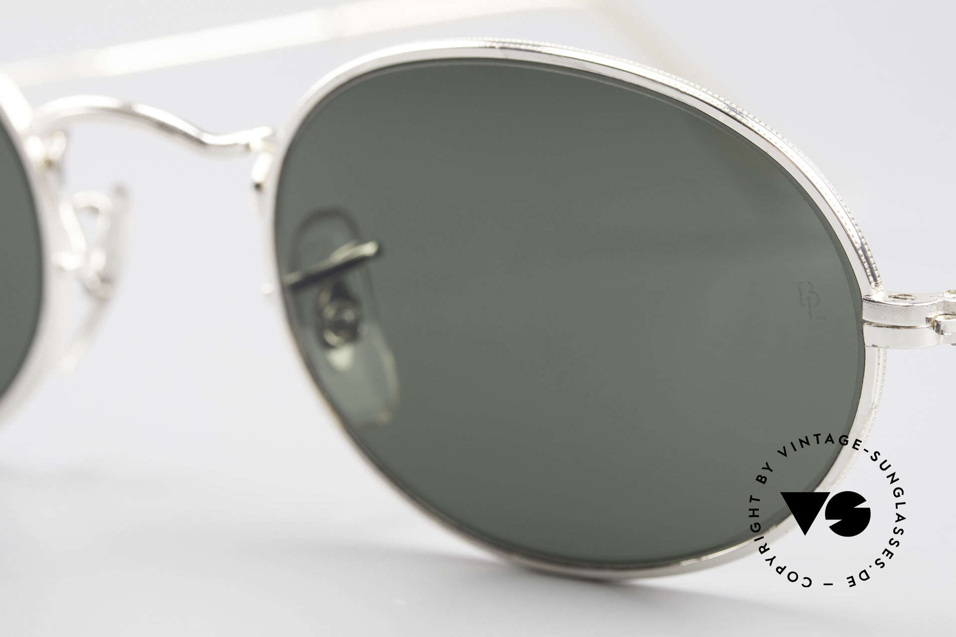 Ray Ban Classic Style I Old Oval B&L USA Sunglasses, Size: small, Made for Men and Women