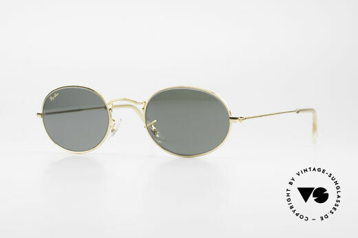 Ray Ban Classic Style I Old B&L USA Sunglasses Oval Details