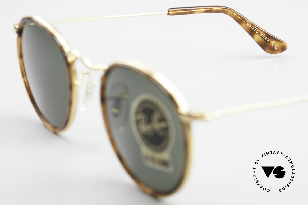 Ray Ban Round Metal 47 Small Round Shades Havana, NO RETRO EYEWEAR, but a rare old 1980's Original!, Made for Men and Women
