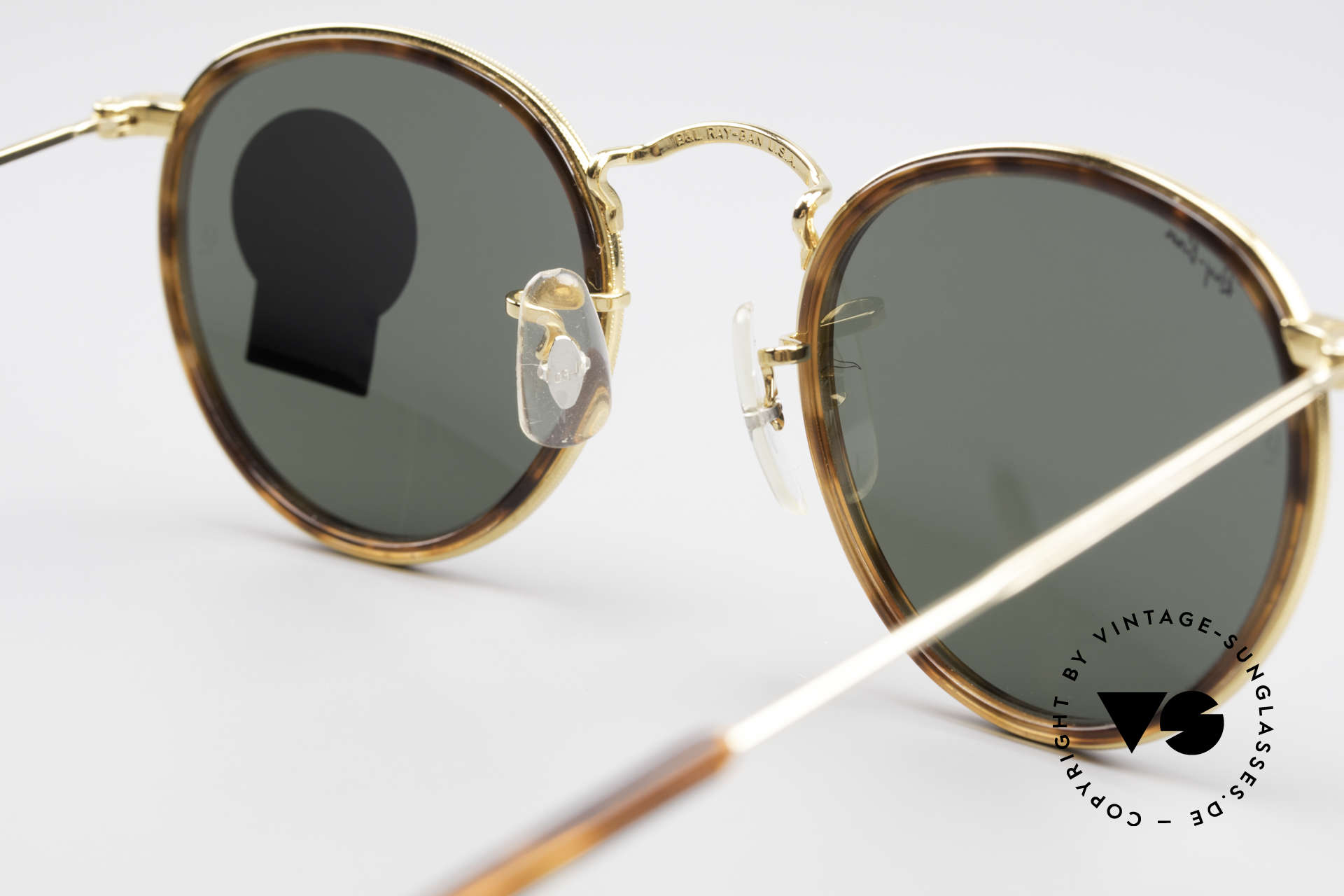 Ray Ban Round Metal 47 Small Round Shades Havana, Size: small, Made for Men and Women