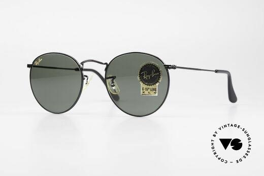 Ray Ban Round Metal 49 Round B&L USA Sunglasses Details