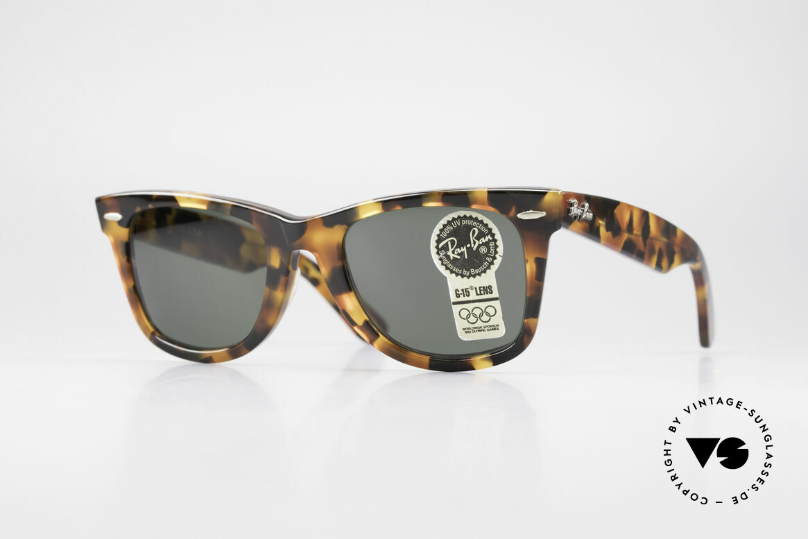 Ray Ban Wayfarer I Limited Edition USA Original, Wayfarer: the downright classic of sunglass fashion, Made for Men and Women