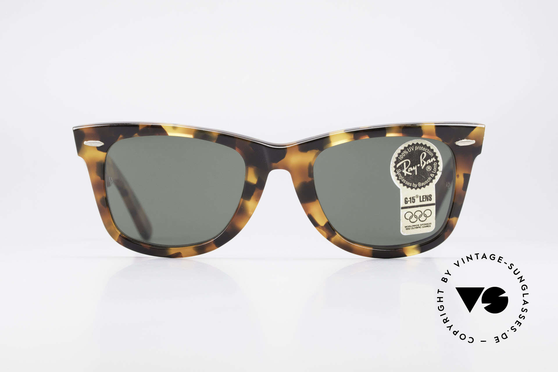 "Ray Ban Wayfarer I Limited Edition USA Original, worn by Don Johnson in ""Miami Vice"" in the 1980's, Made for Men and Women"