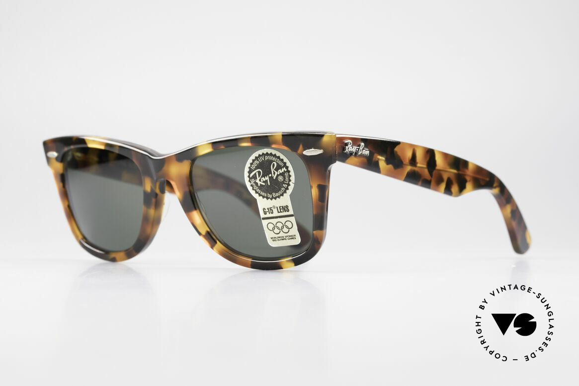 Ray Ban Wayfarer I Limited Edition USA Original, often copied, never matched; truly vintage by B&L, Made for Men and Women