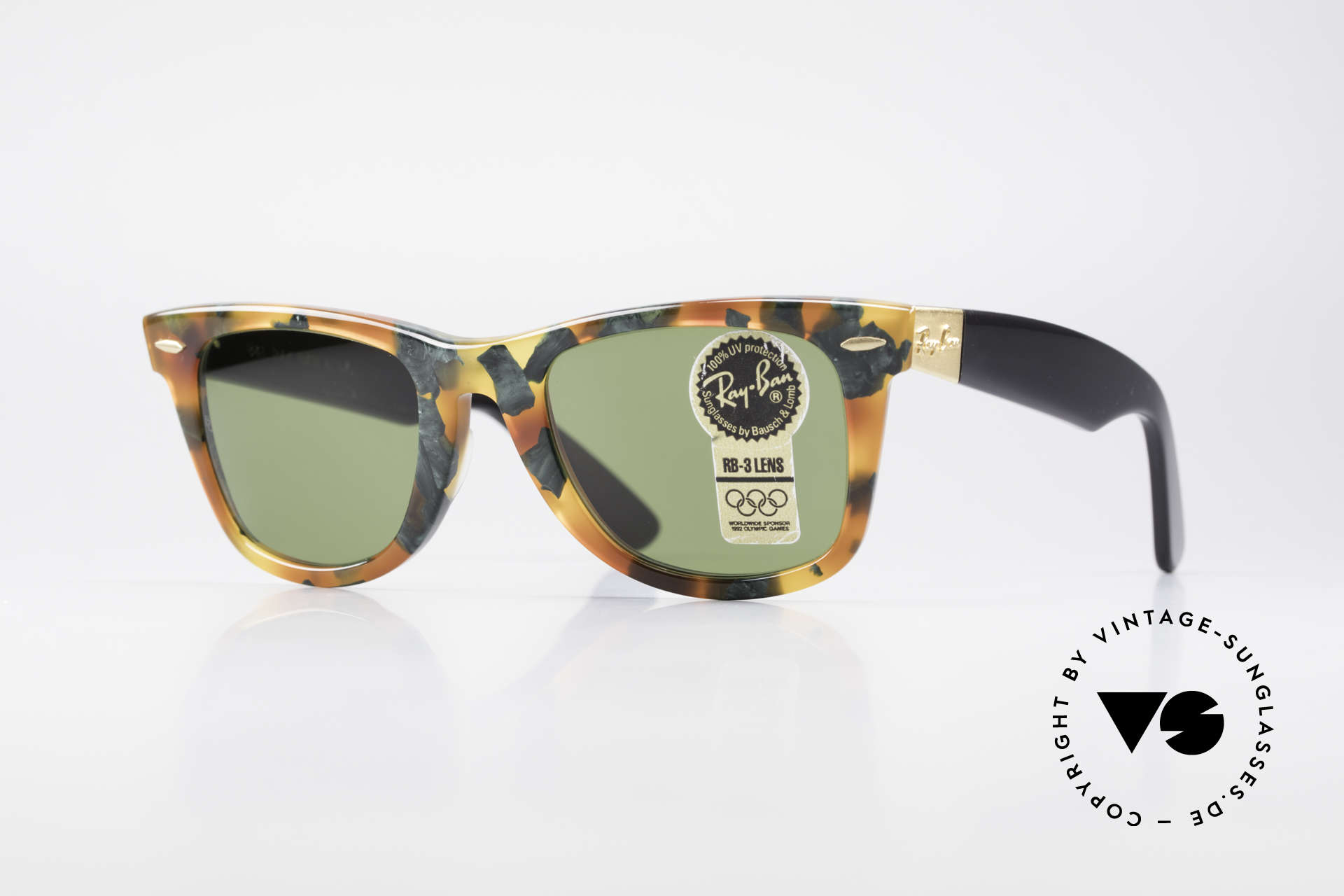 Ray Ban Wayfarer I Limited Deluxe Edition USA, Wayfarer: the downright classic of sunglass fashion, Made for Men and Women