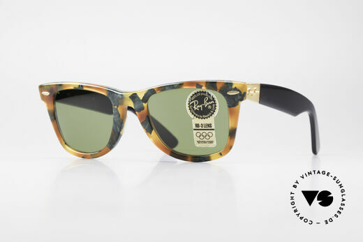 Ray Ban Wayfarer I Limited Deluxe Edition USA Details
