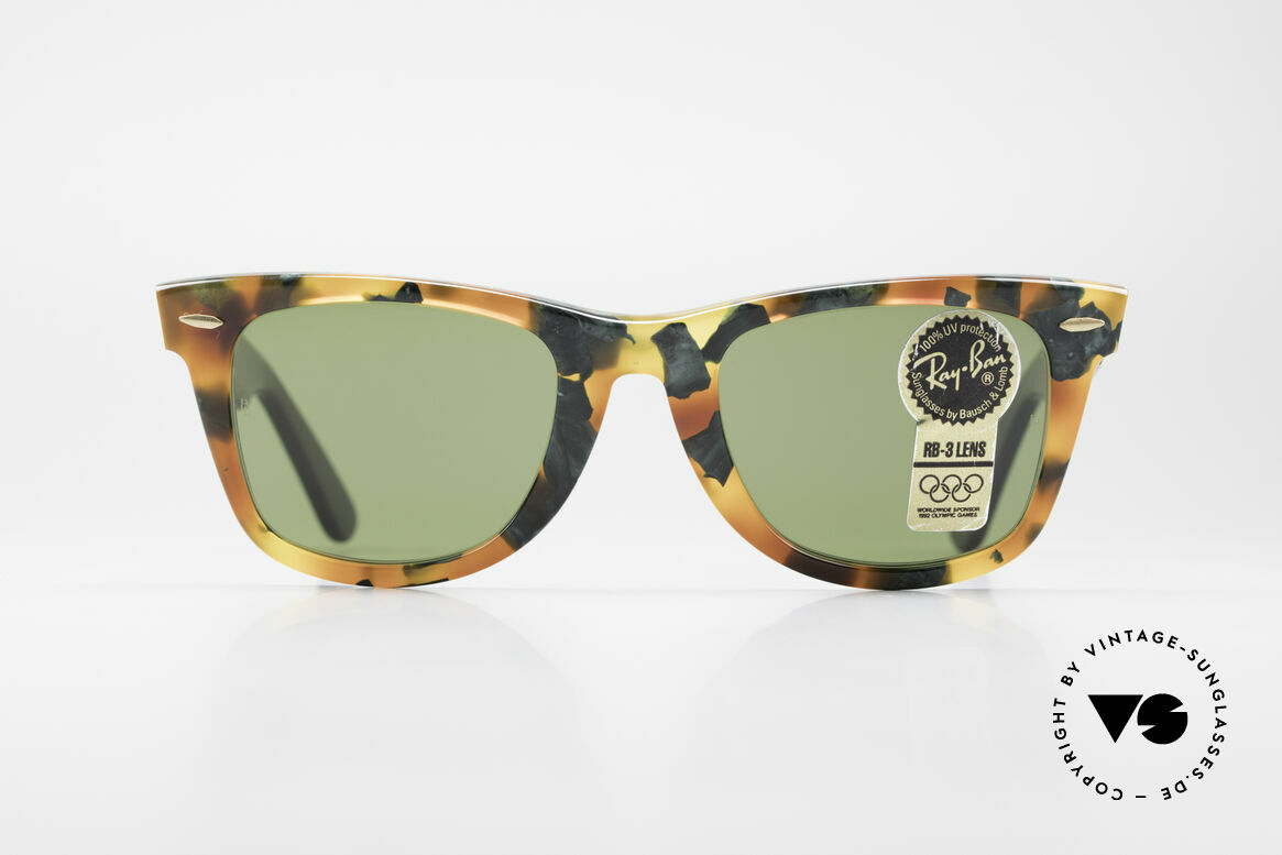 "Ray Ban Wayfarer I Limited Deluxe Edition USA, worn by Don Johnson in ""Miami Vice"" in the 1980's, Made for Men and Women"