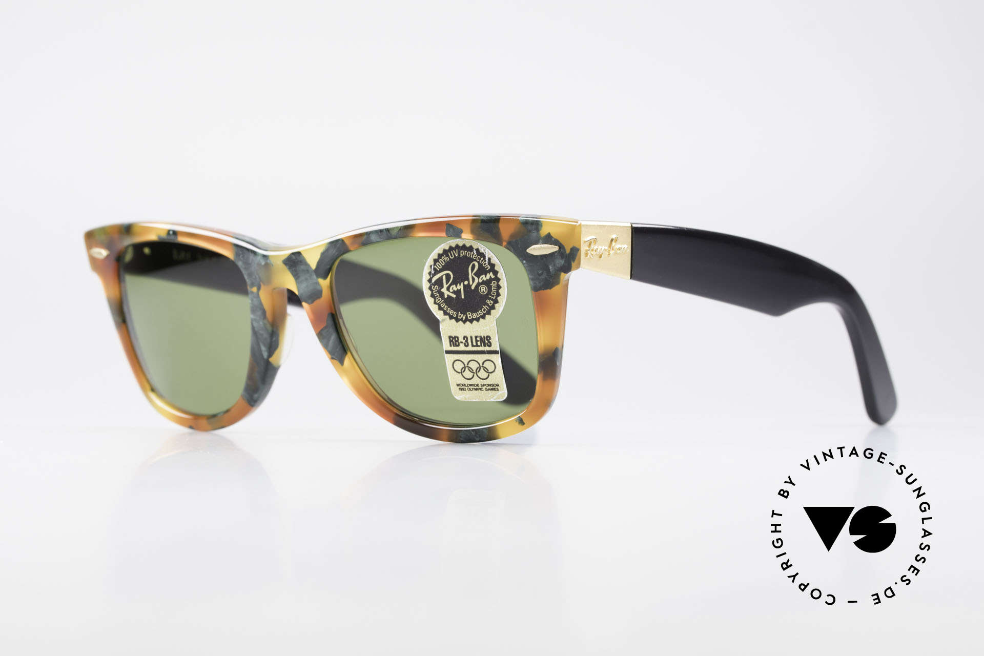 Ray Ban Wayfarer I Limited Deluxe Edition USA, often copied, never matched; truly vintage by B&L, Made for Men and Women