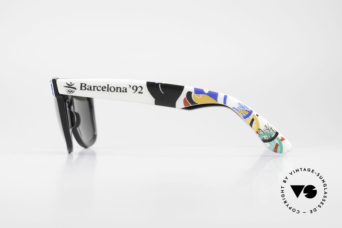 Ray Ban Wayfarer I Olympic Games Barcelona, NO RETRO sunglasses, but an authentic USA-original, Made for Men and Women
