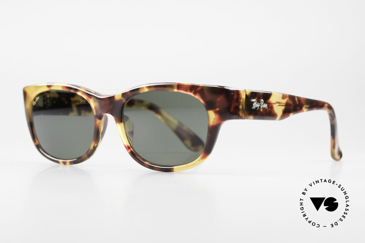 Ray Ban Bohemian Bausch & Lomb Sunglasses, timeless, brown-tortoise frame + Ray-Ban logo, Made for Men and Women