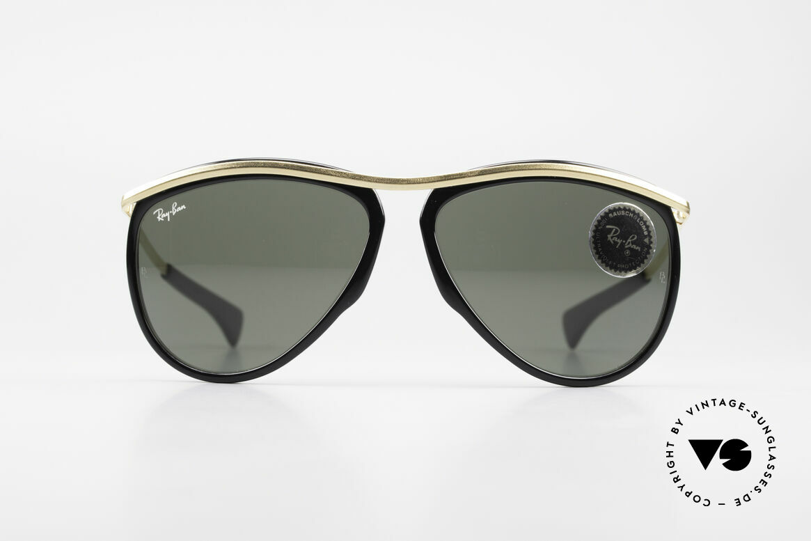 Ray Ban Olympian Series Old B&L USA Aviator Shades, rare aviator model from the famous Olympian series, Made for Men and Women