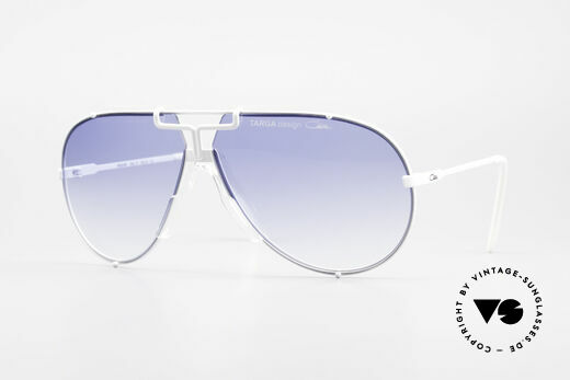 Cazal 901 Targa Design XL Aviator Sunglasses Legend Details