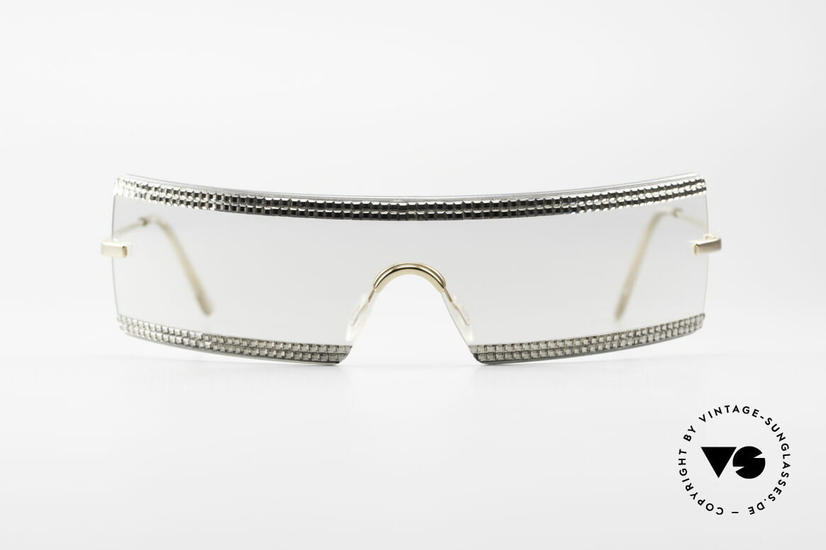 "Swarovski S547 Glittering Shades Sunglasses, Swarovski = a synonym for ""bling bling"" & lead glass, Made for Women"