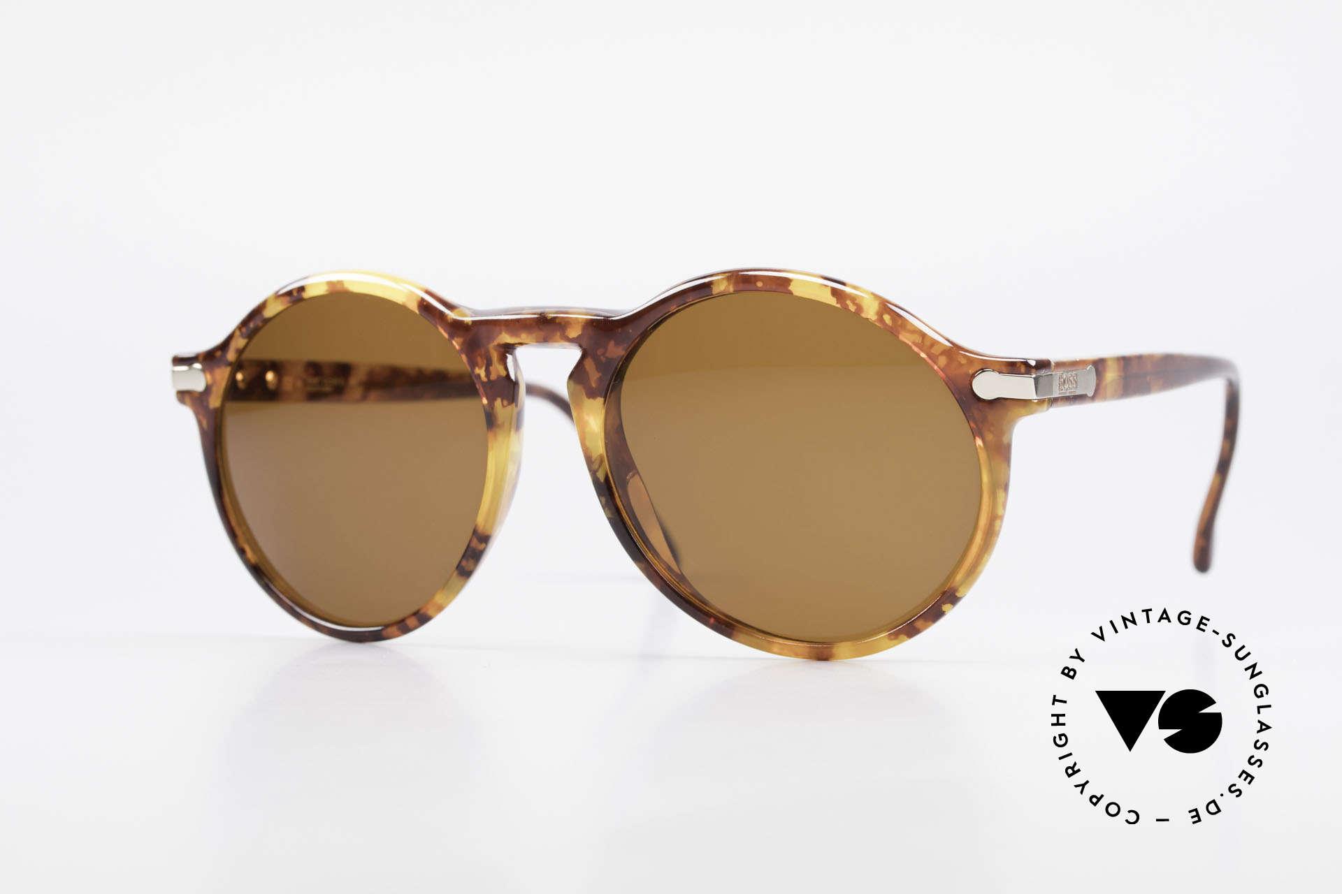 BOSS 5160 Big Panto 90's Sunglasses, classic men's 90's designer sunglasses by BOSS, Made for Men