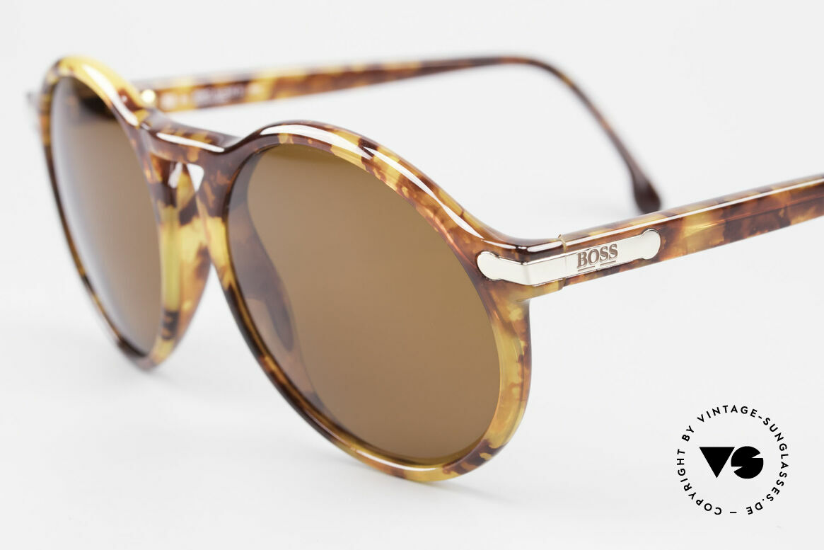 BOSS 5160 Big Panto 90's Sunglasses, lightweight and very comfortable (Optyl material), Made for Men