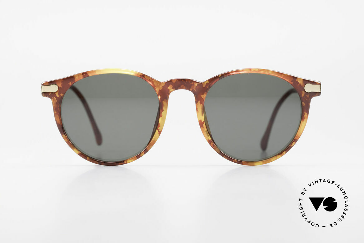 BOSS 5170 Large Panto Style Frame 90's, rare, classic vintage designer sunglasses by BOSS, Made for Men and Women