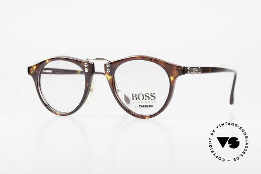 BOSS 5110 Panto Style Eyeglasses 90's Details