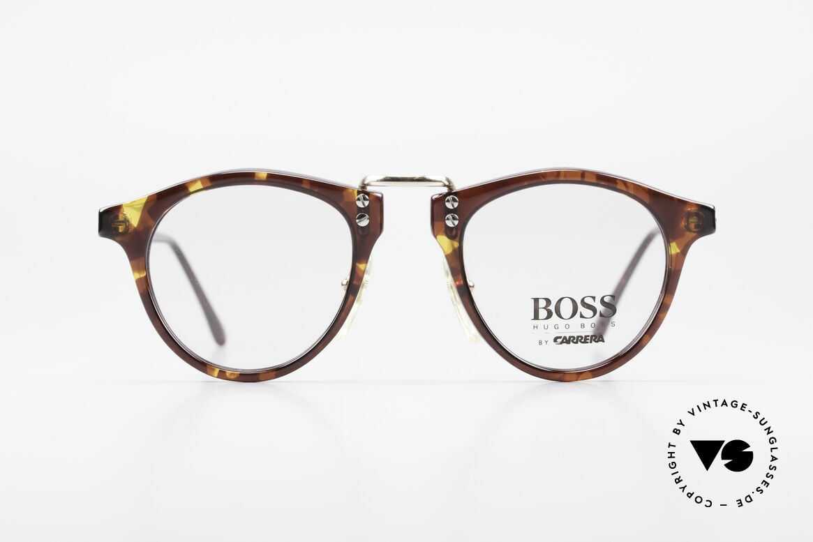 BOSS 5110 Panto Style Eyeglasses 90's, classic vintage 'panto design' eyeglasses by BOSS, Made for Men and Women