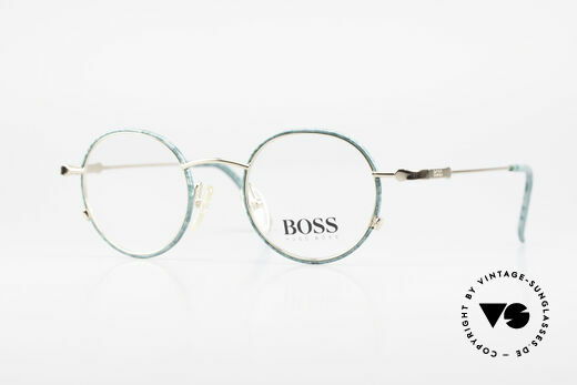 BOSS 5148 Round Panto Eyeglass Frame Details