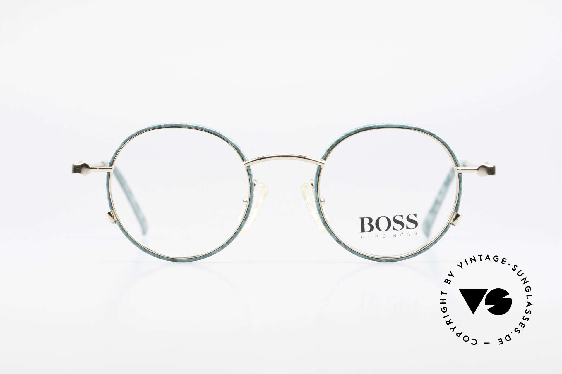 BOSS 5148 Round Panto Eyeglass Frame, grand original in premium quality; just timeless!, Made for Men and Women