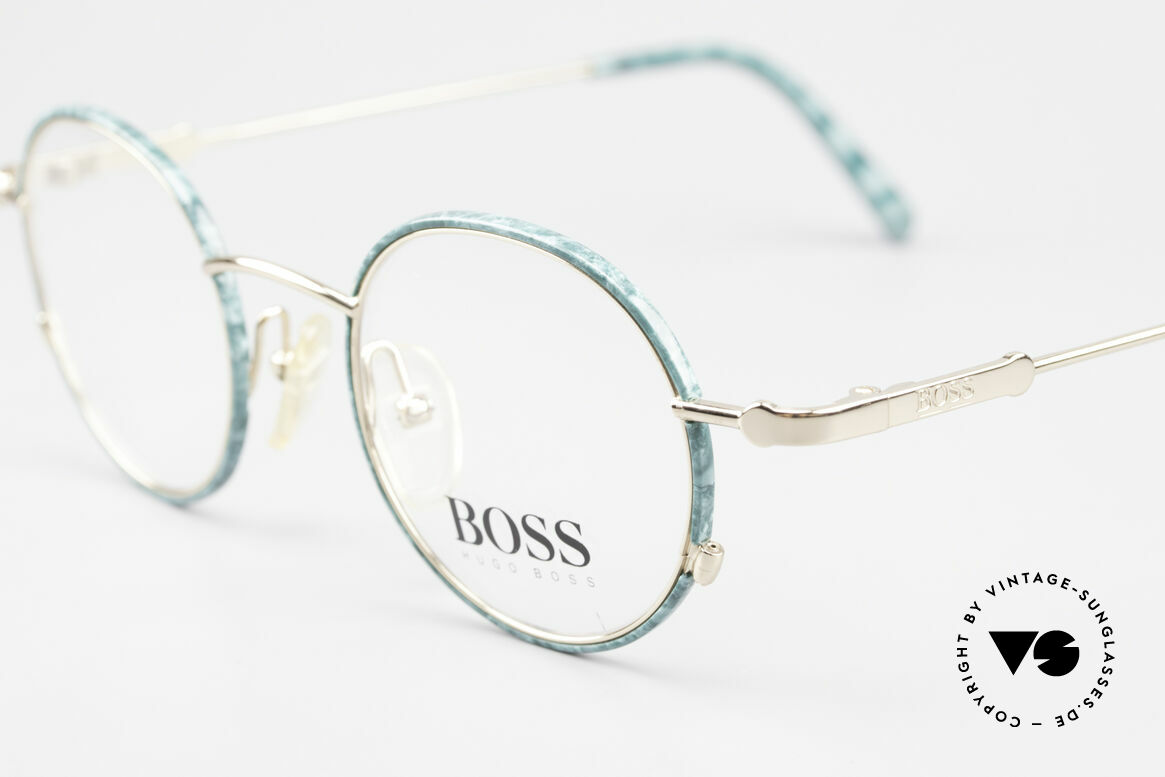 BOSS 5148 Round Panto Eyeglass Frame, never worn (like all our rare vintage 90's frames), Made for Men and Women
