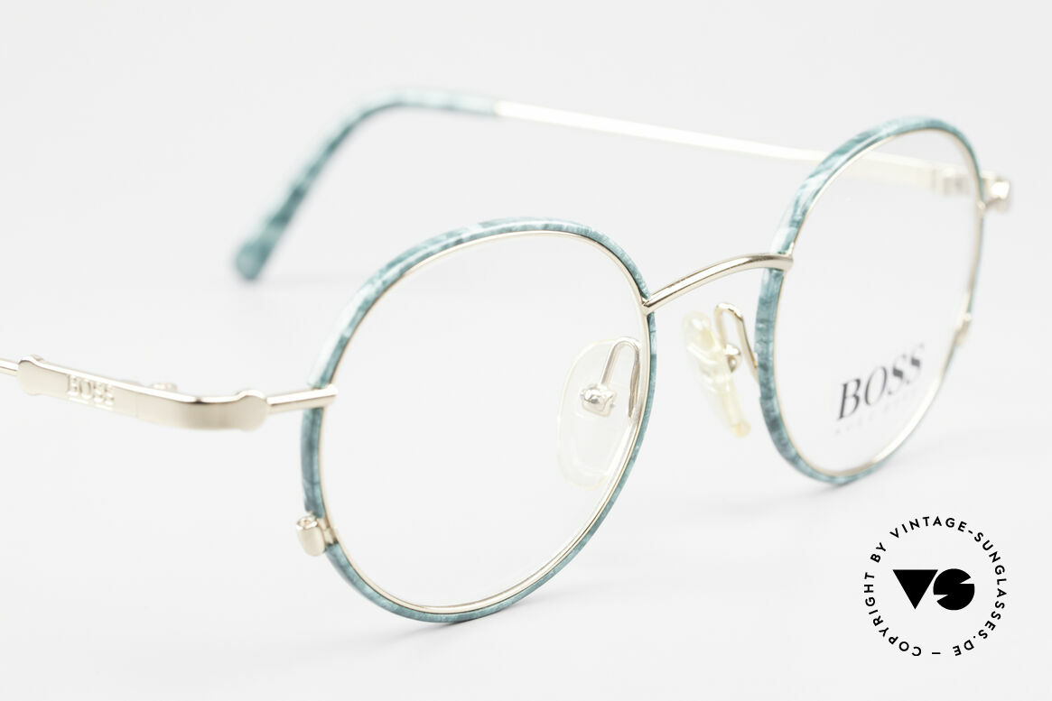 BOSS 5148 Round Panto Eyeglass Frame, NO RETRO eyewear, but a brilliant BOSS ORIGINAL, Made for Men and Women