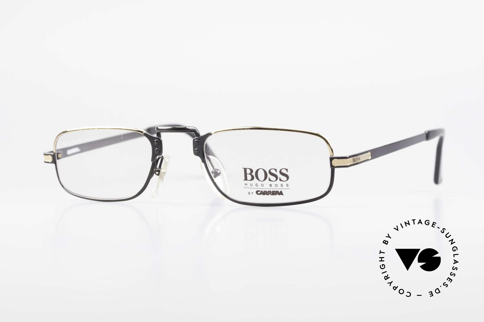 BOSS 5100 Classic Men's Reading Glasses, vintage reading eyeglass-frame by HUGO BOSS, Made for Men
