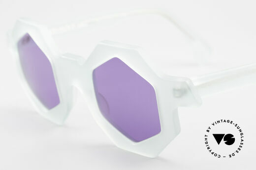 Alain Mikli 0157 / 932 Hexagonal Sunglasses 80's