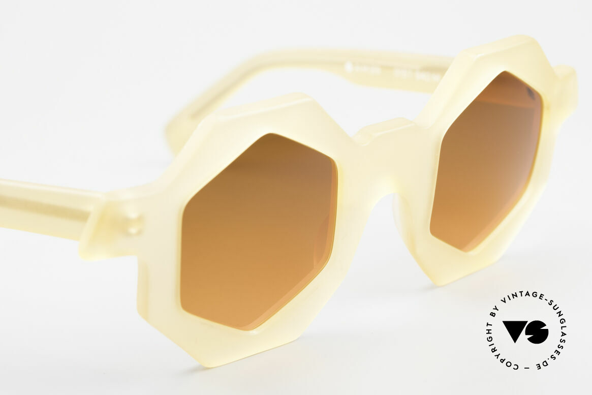 Alain Mikli 0157 / 940 Hexagonal Sunglasses 1989