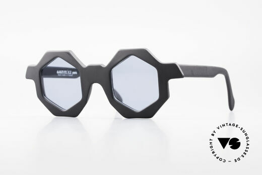 Alain Mikli 0157 / 101 Hexagonal 1989 Sunglasses Details