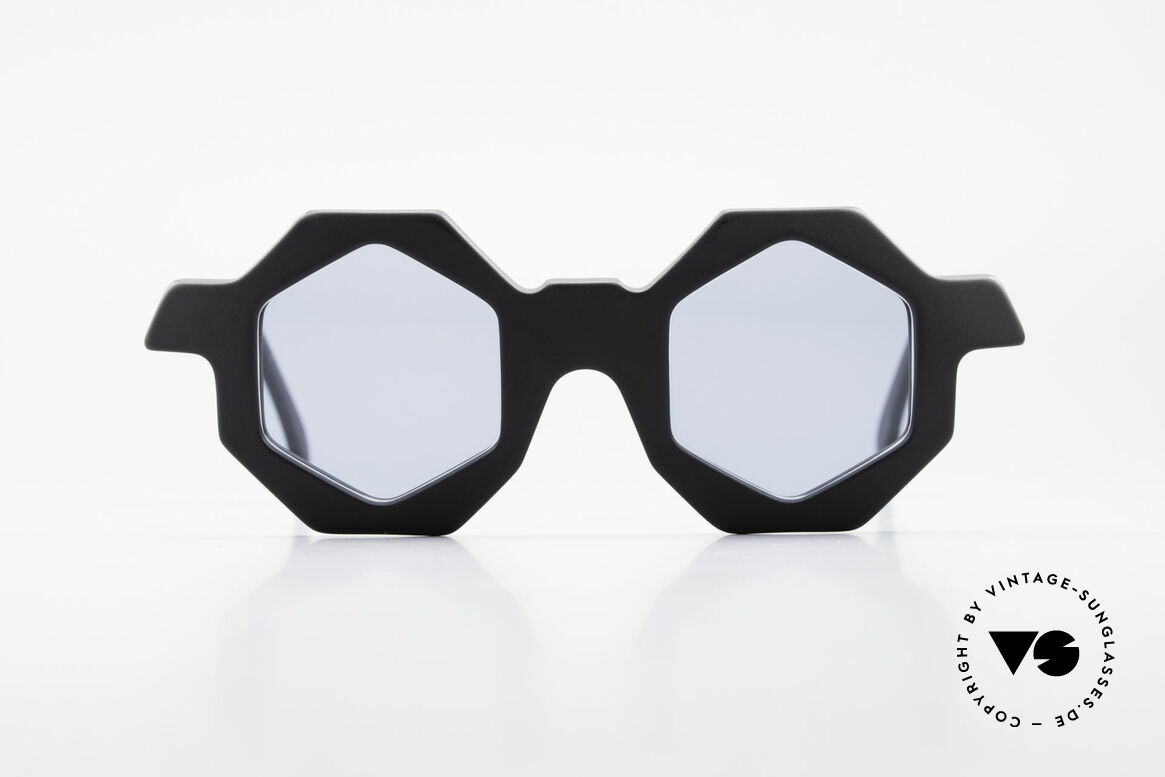 Alain Mikli 0157 / 101 Hexagonal 1989 Sunglasses