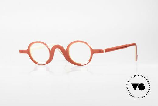 Theo Belgium Lichten Colorful Designer Eyeglasses Details