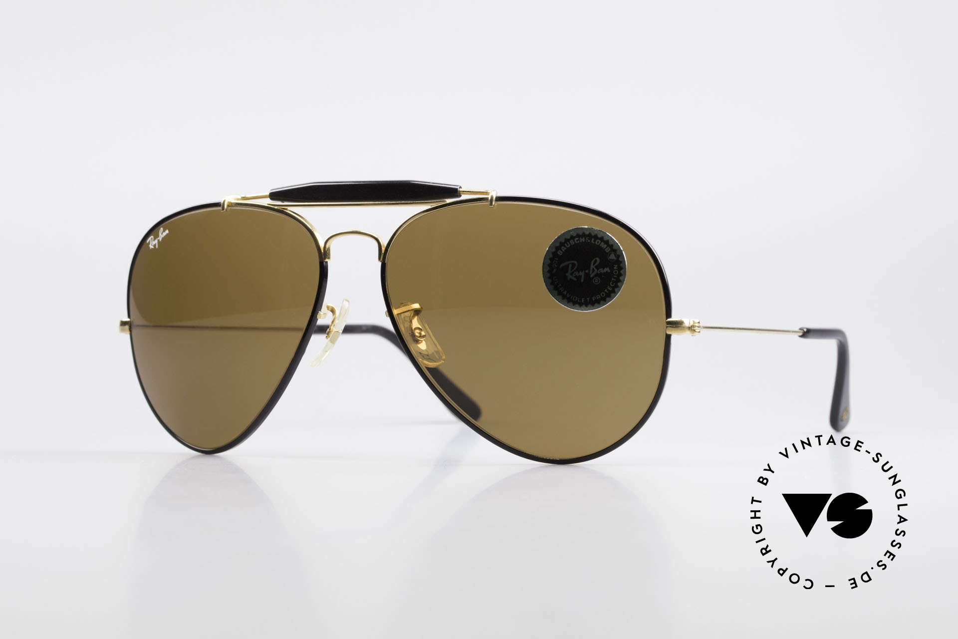 Ray Ban Outdoorsman II Precious Metals USA Ray-Ban, costly vintage RAY-BAN B&L aviator sunglasses, Made for Men