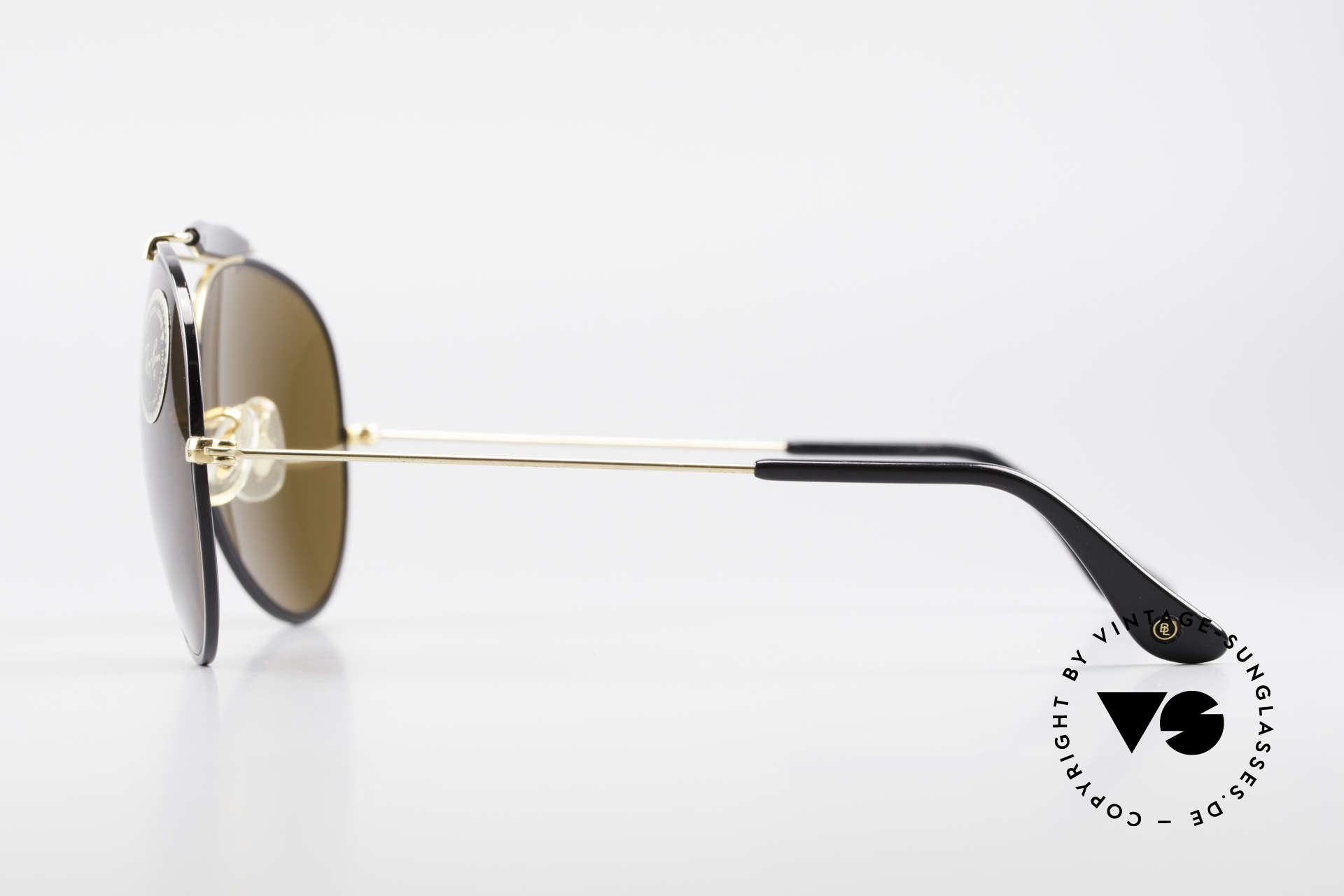 Ray Ban Outdoorsman II Precious Metals USA Ray-Ban, made in the 1970's & 80's by Bausch&Lomb, USA, Made for Men