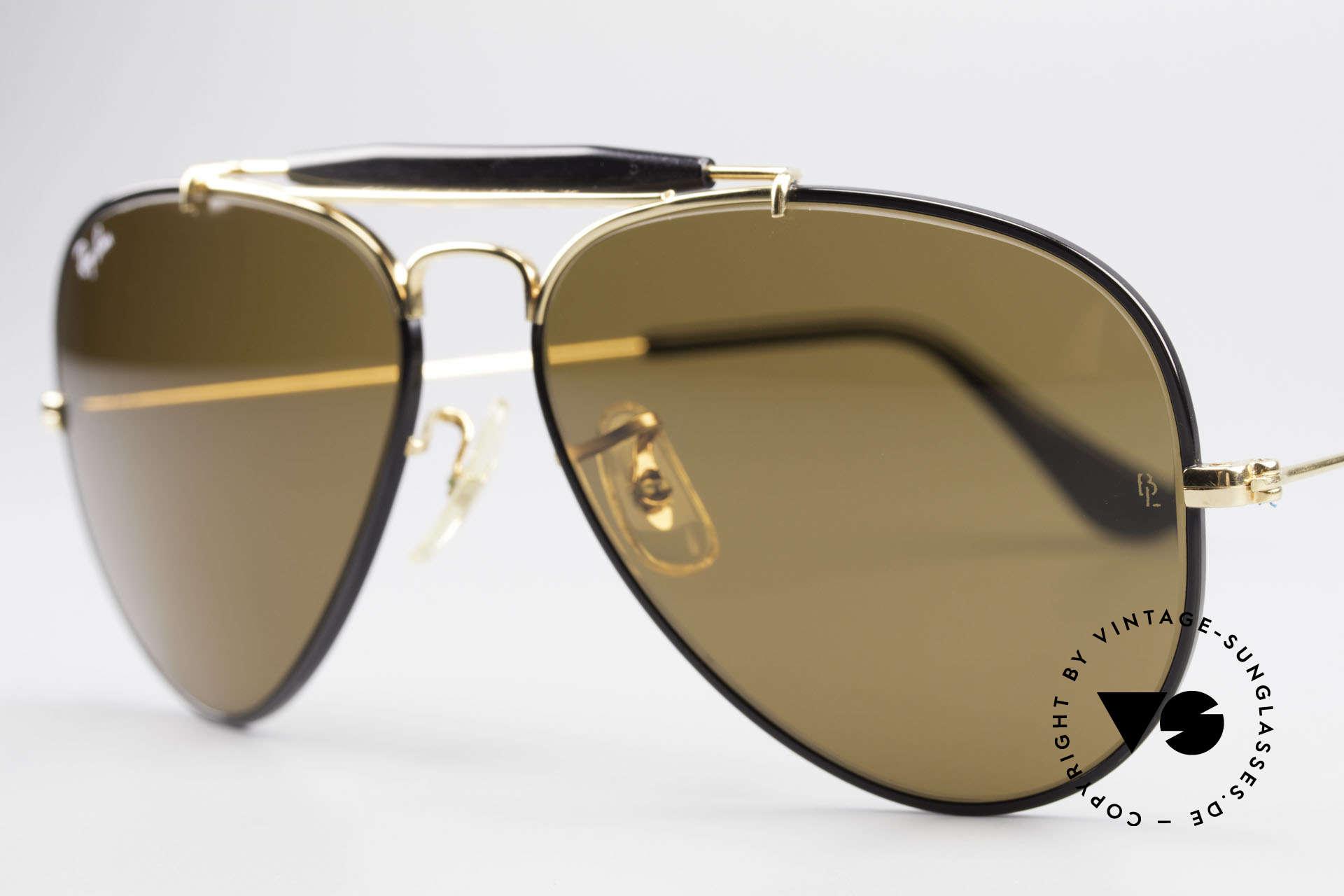 Ray Ban Outdoorsman Precious Metals Ray-Ban USA, Size: medium, Made for Men and Women