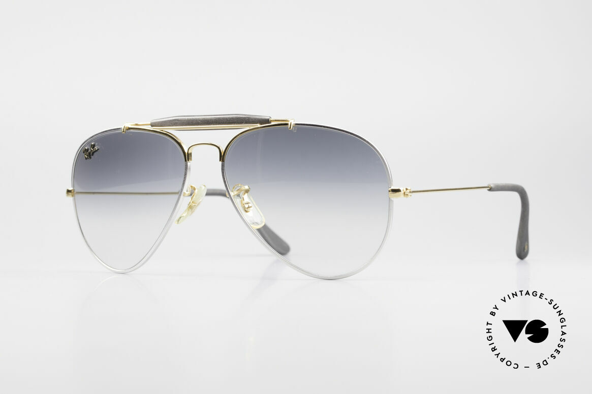 Ray Ban Outdoorsman Precious Metals Titanium, costly vintage RAY-BAN B&L aviator sunglasses, Made for Men and Women