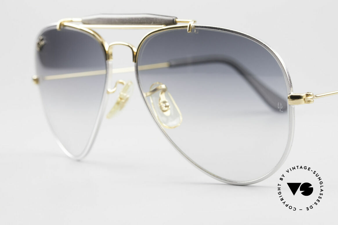 Ray Ban Outdoorsman Precious Metals Titanium, unworn NOS rarity (sought-after collector's item), Made for Men and Women