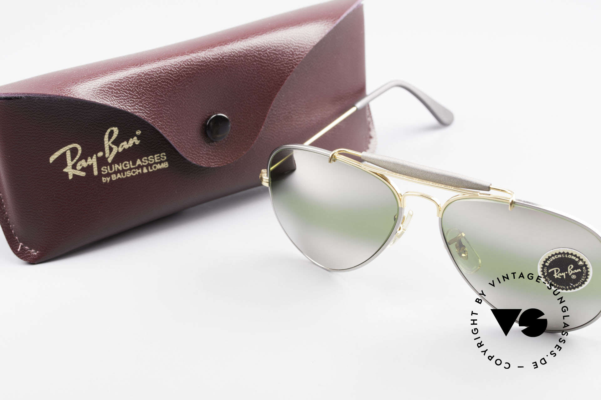 Ray Ban Outdoorsman Precious Greenish Mirrored, Size: medium, Made for Men and Women