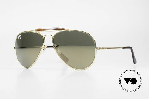 Ray Ban Outdoorsman Diamond Hard Tortuga W1506 Details