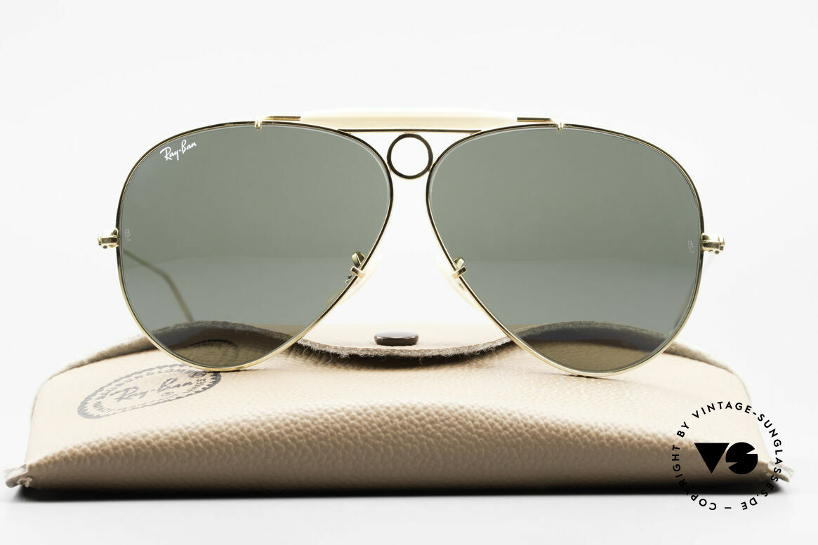Ray Ban Shooter Sport G15 Bausch & Lomb Sun Lenses, the sunglass classic par excellence in 62mm size, Made for Men