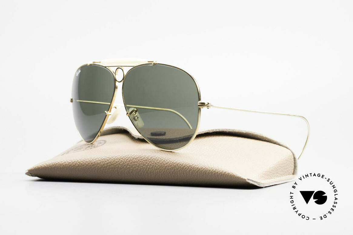 Ray Ban Shooter Sport G15 Bausch & Lomb Sun Lenses, made by Bausch & Lomb in Rochester (NY), U.S.A., Made for Men