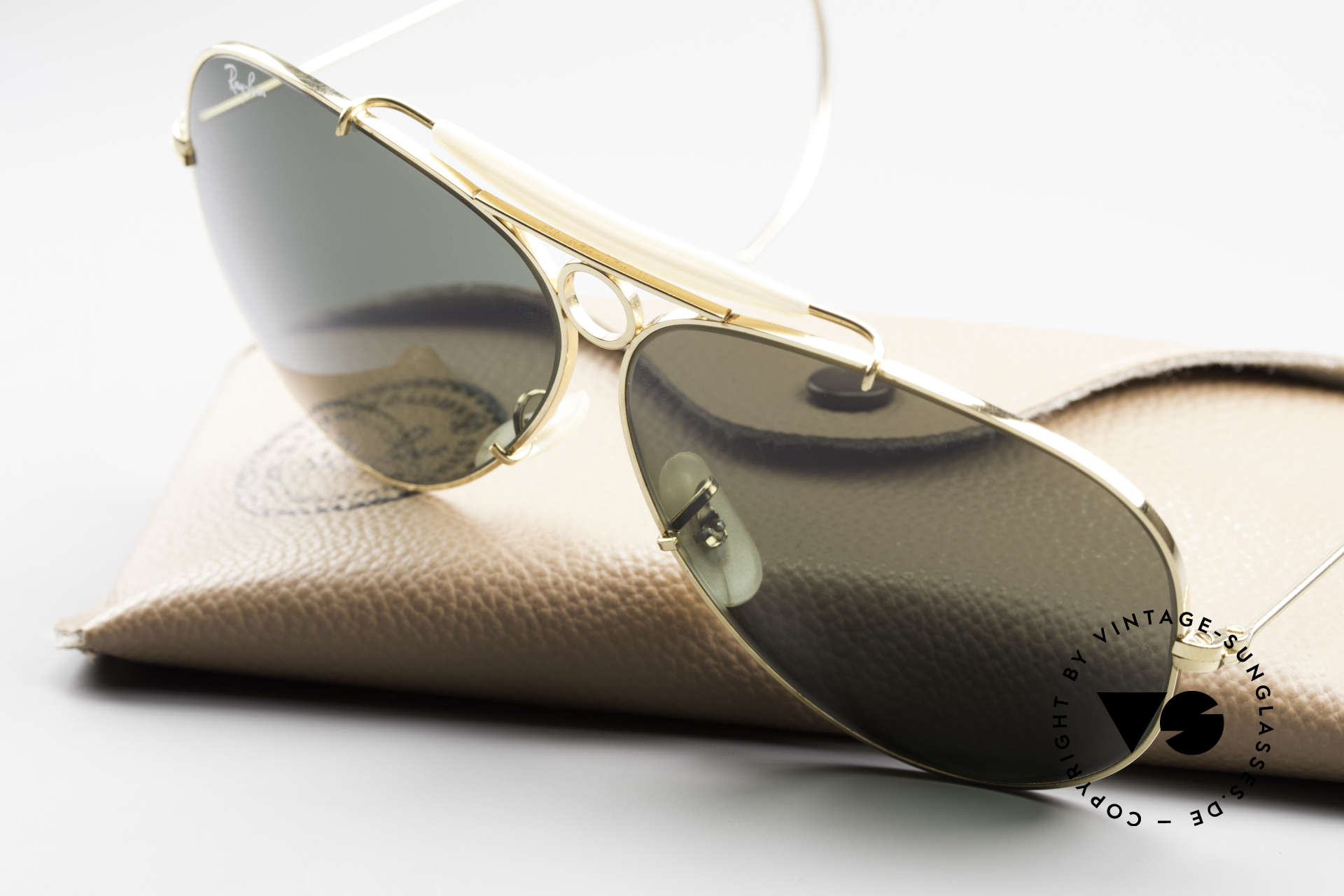 Ray Ban Shooter Sport G15 Bausch & Lomb Sun Lenses, NO RETRO frame, but authentic Bausch&Lomb, USA, Made for Men