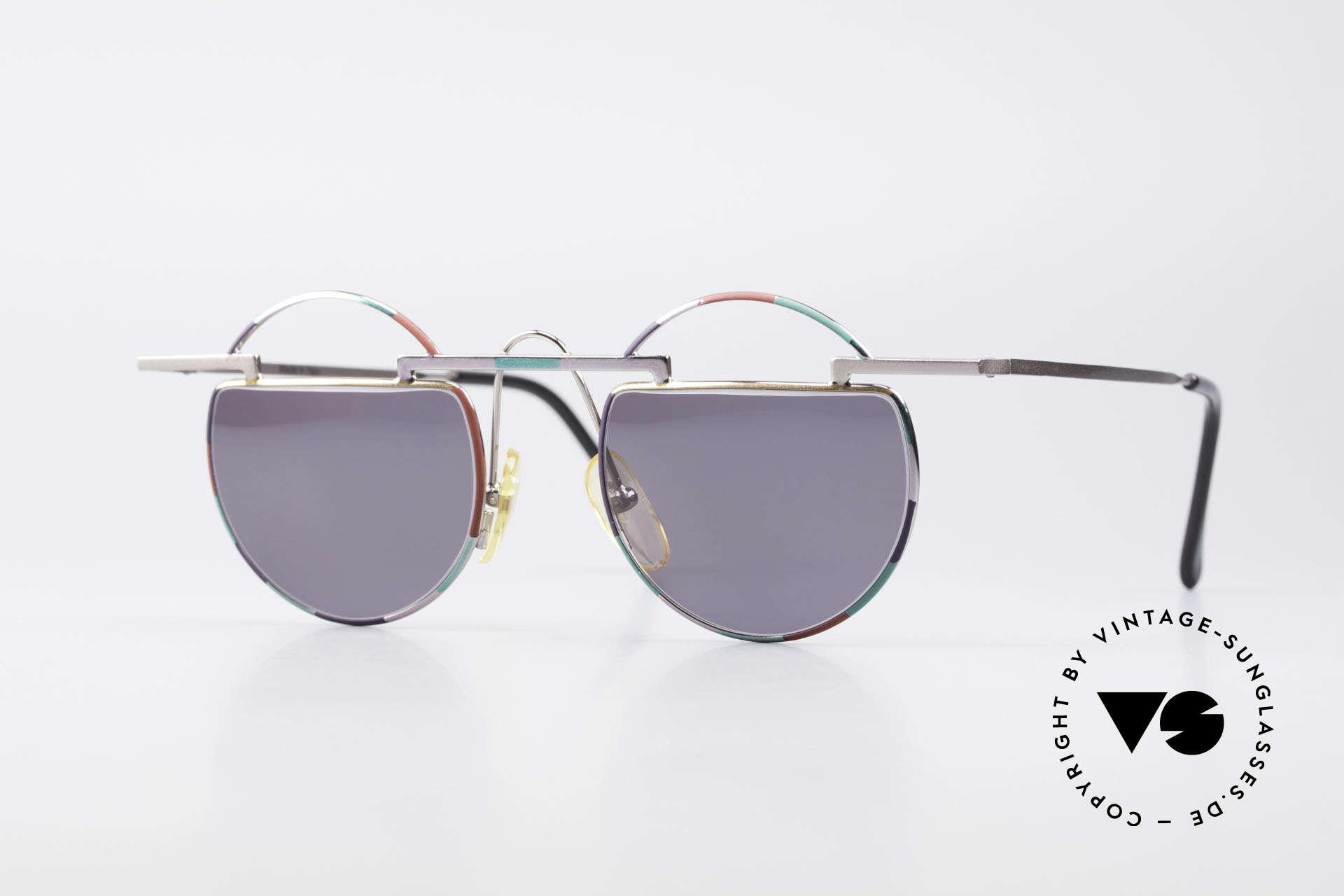 Taxi 221 by Casanova Vintage Art Sunglasses, artful TAXI by Casanova vintage shades of the 80's, Made for Women