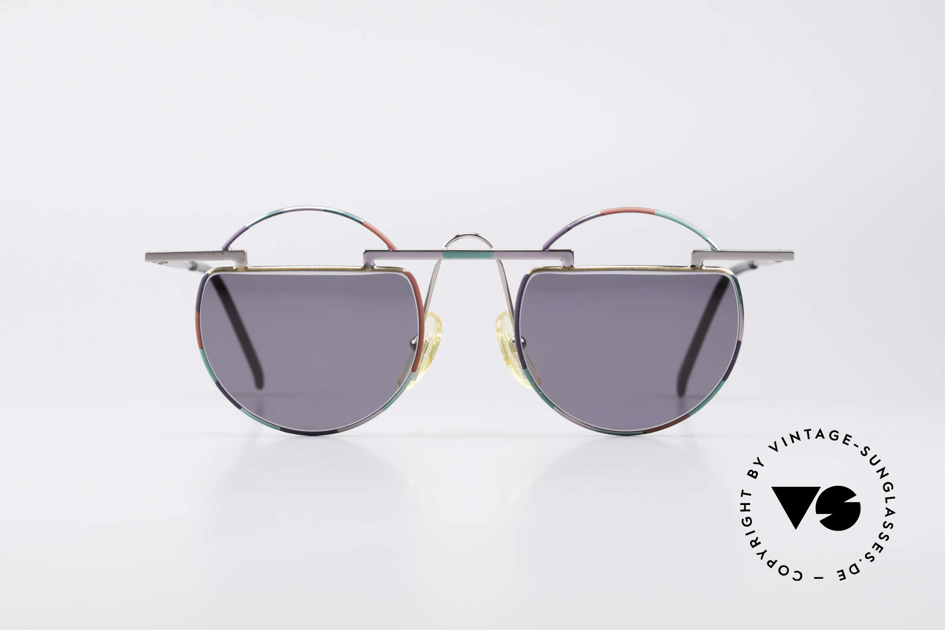 Taxi 221 by Casanova Vintage Art Sunglasses, colorful and peppy frame construction; full of verve, Made for Women