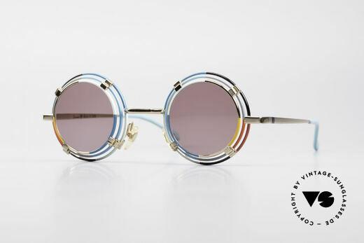 Casanova MTC 1 Rare Round Art Sunglasses Details
