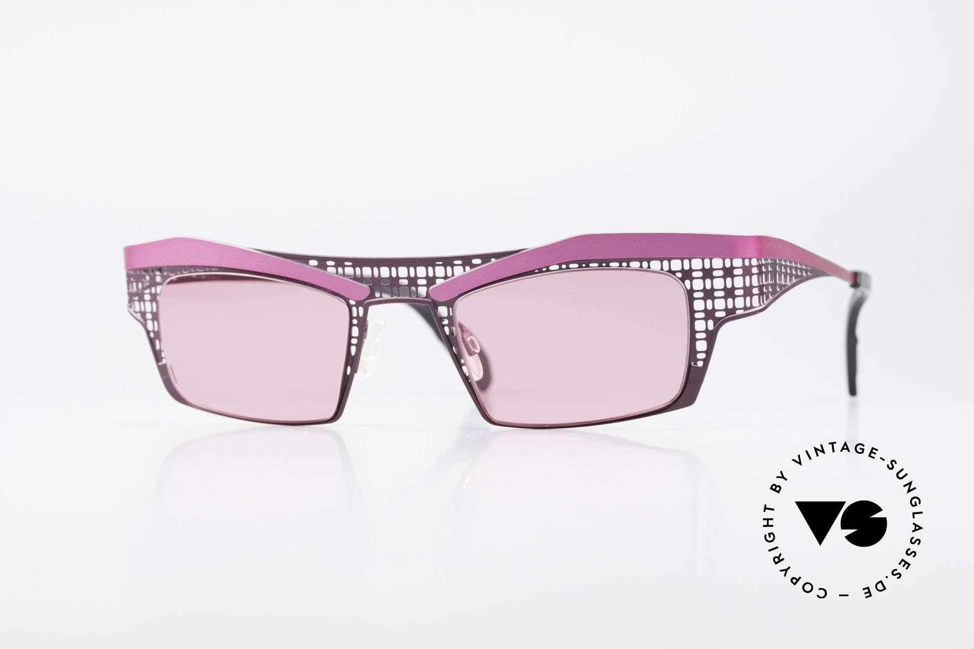 Theo Belgium Eye-Witness TA Avant-Garde Sunglasses Pink, Theo Belgium: the most self-willed brand in the world, Made for Women