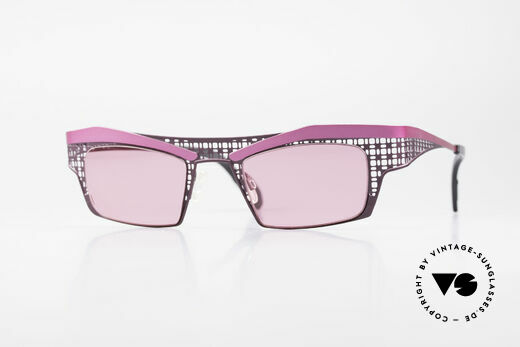 Theo Belgium Eye-Witness TA Avant-Garde Sunglasses Pink Details