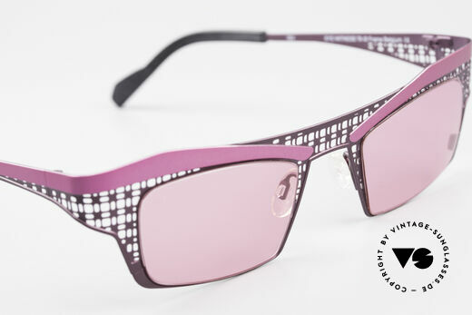 Theo Belgium Eye-Witness TA Avant-Garde Sunglasses Pink, unworn, one of a kind, THEO frames for all who dare ;), Made for Women