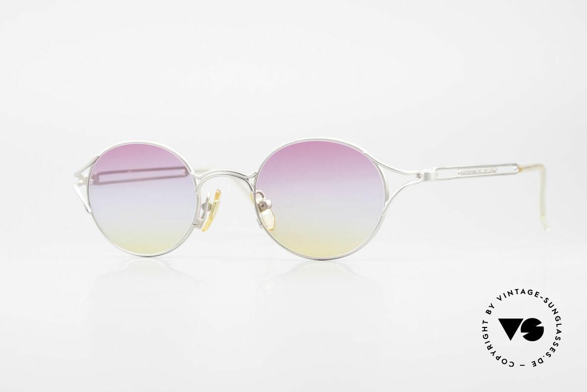 Yohji Yamamoto 51-4103 Panto Designer Sunglasses, extraordinary vintage Yohji Yamamoto shades of the 90s, Made for Men and Women